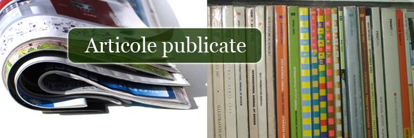 articole publicate